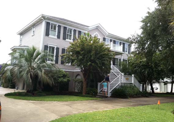 Isle of Palms, shingle roof replacement.